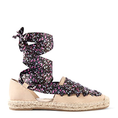 King Lace-Up Espadrilles