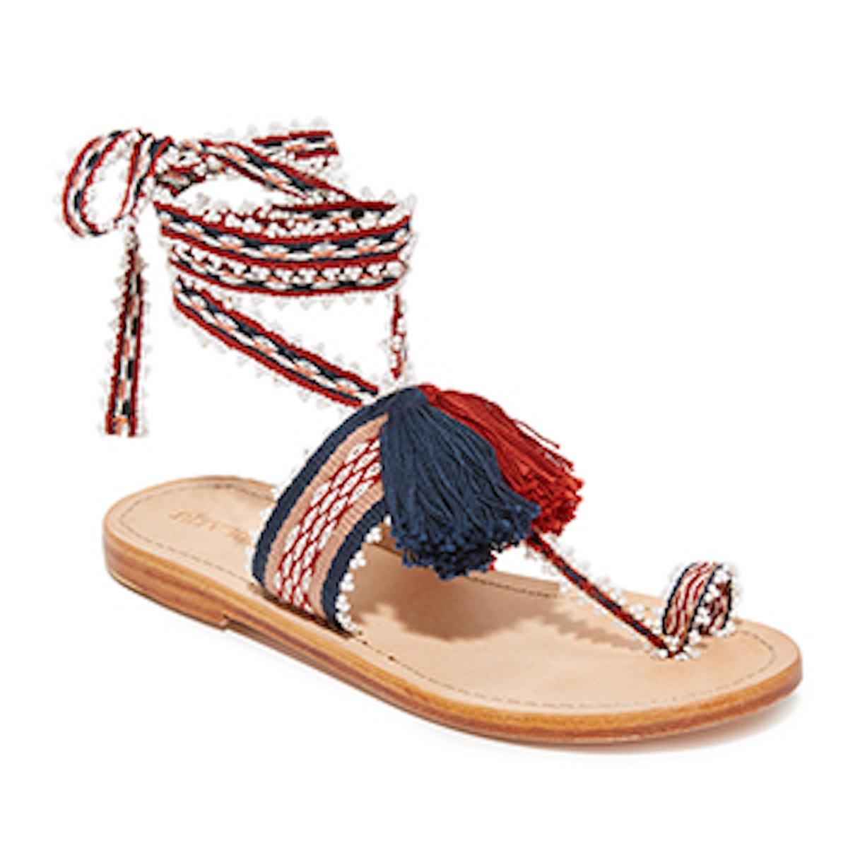 Zandra Handloom Sandals