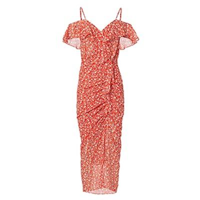Marilyn Cold Shoulder Dress