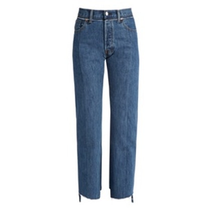 X Levi's reworked straight-leg jeans