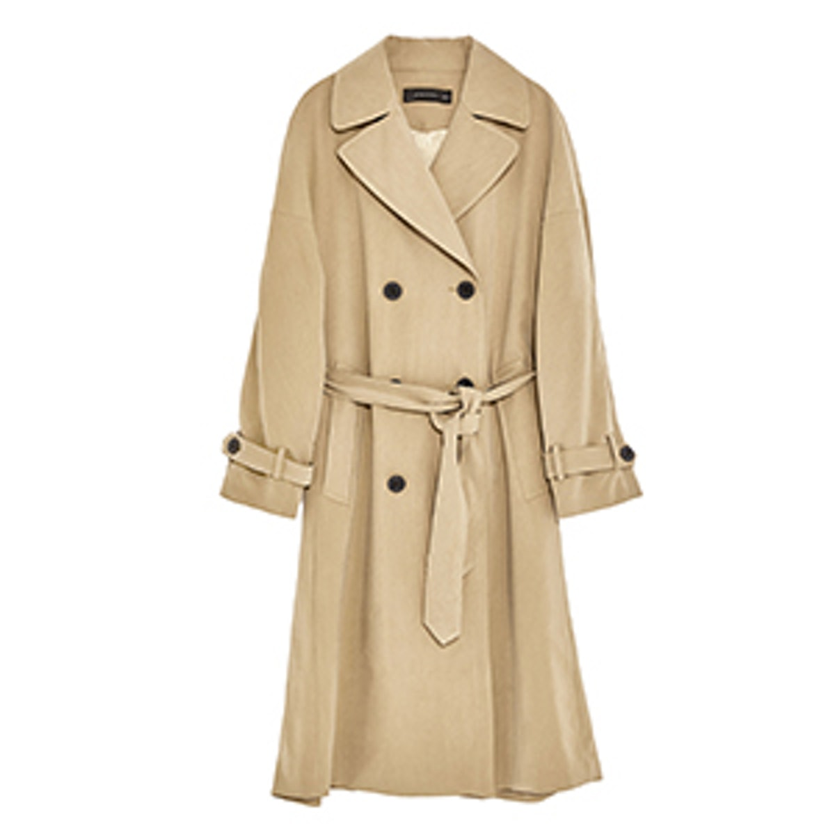 Bell Sleeve Trench Coat