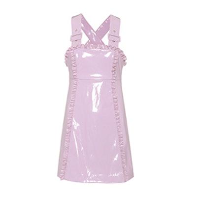 Apron Sleeveless Mini Dress