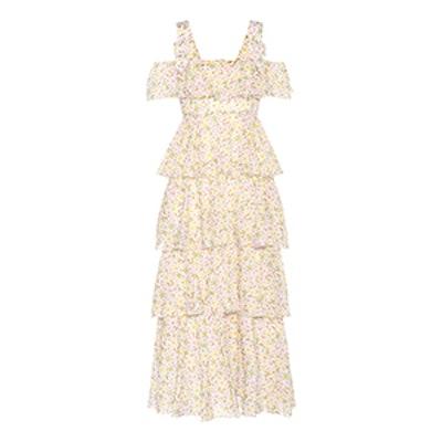 Floral-Printed Cotton Dress