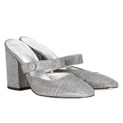 Metallic Mules