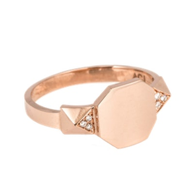 Signet Pyramid Ring