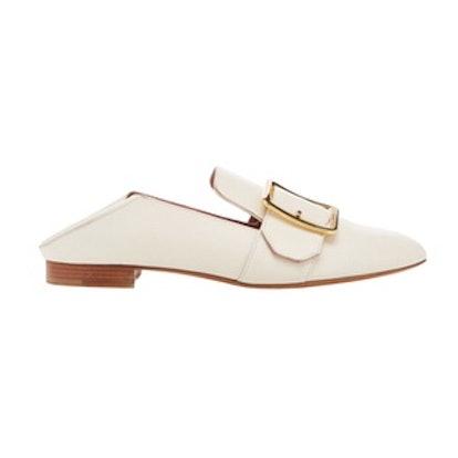 Janelle Leather Slipper