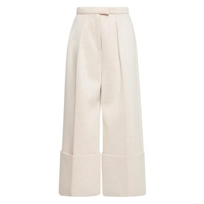 Flared Wide Legged Trousers