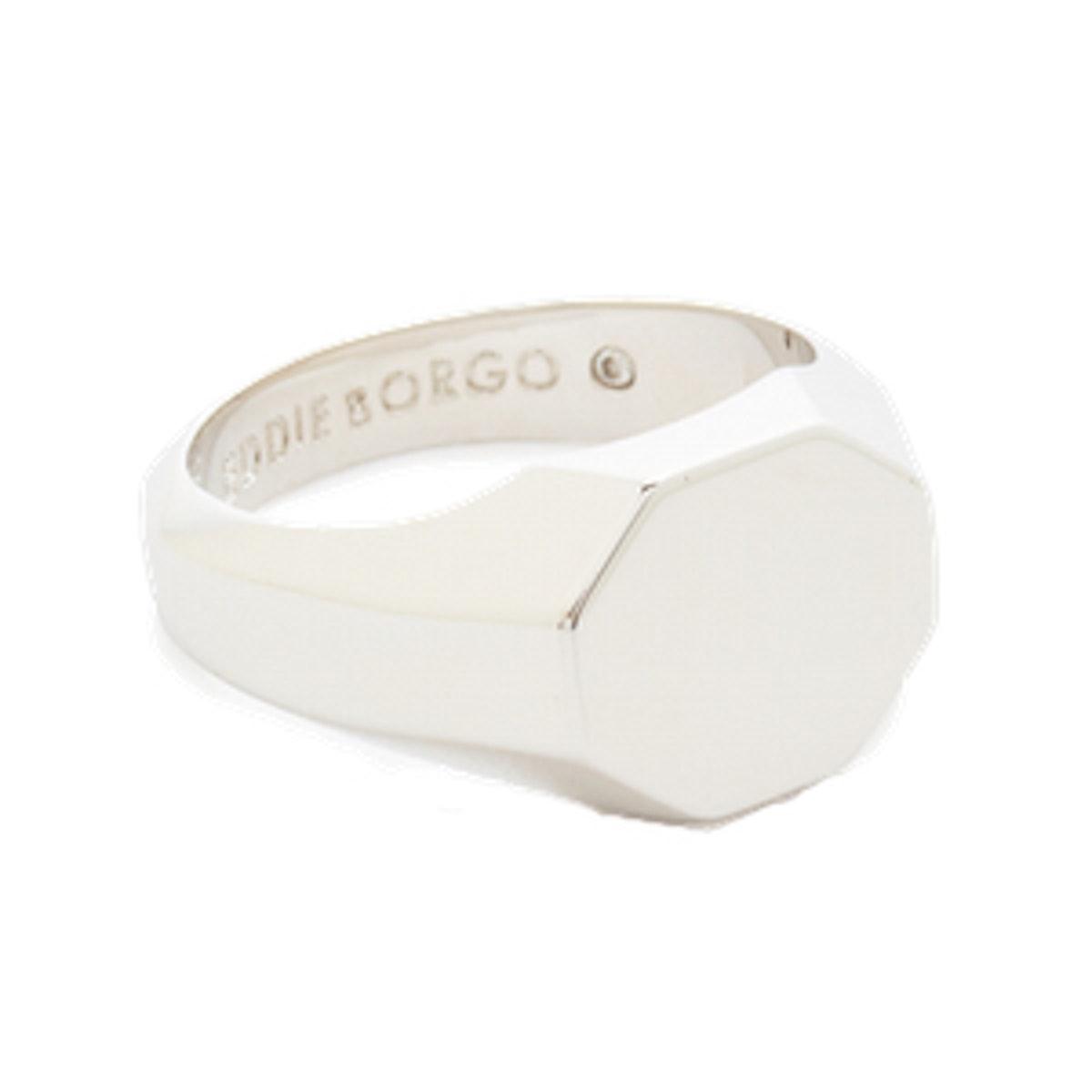 Octagon Signet Ring