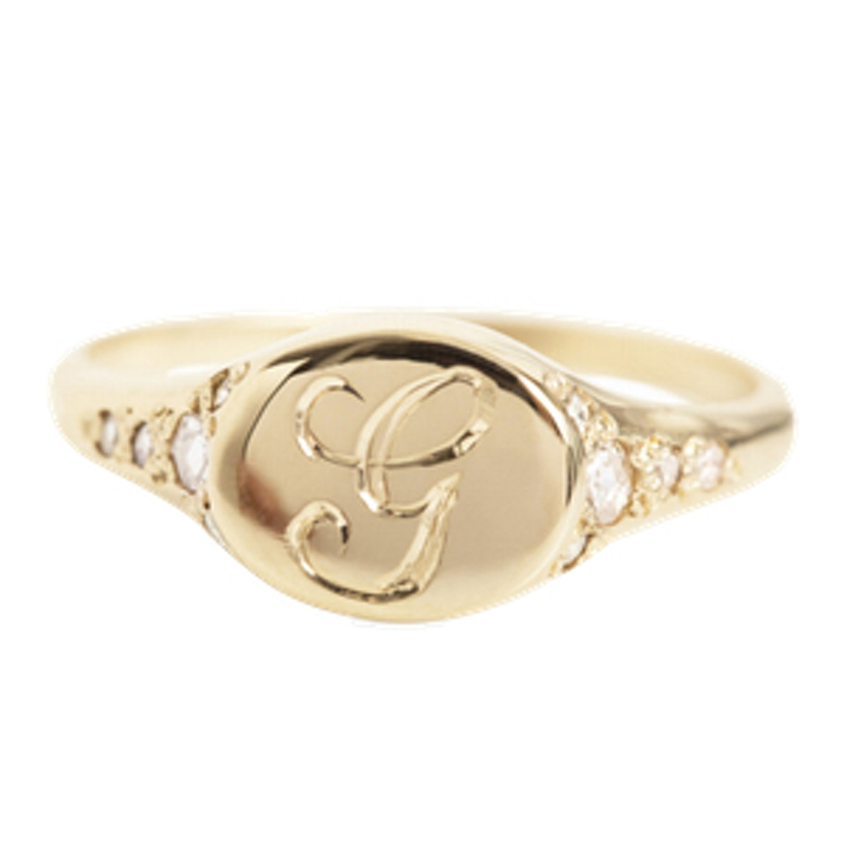 Viola's Treasure Signet Ring