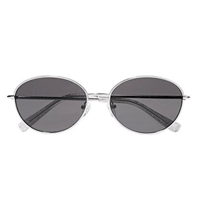Fenn Round-Frame Sunglasses