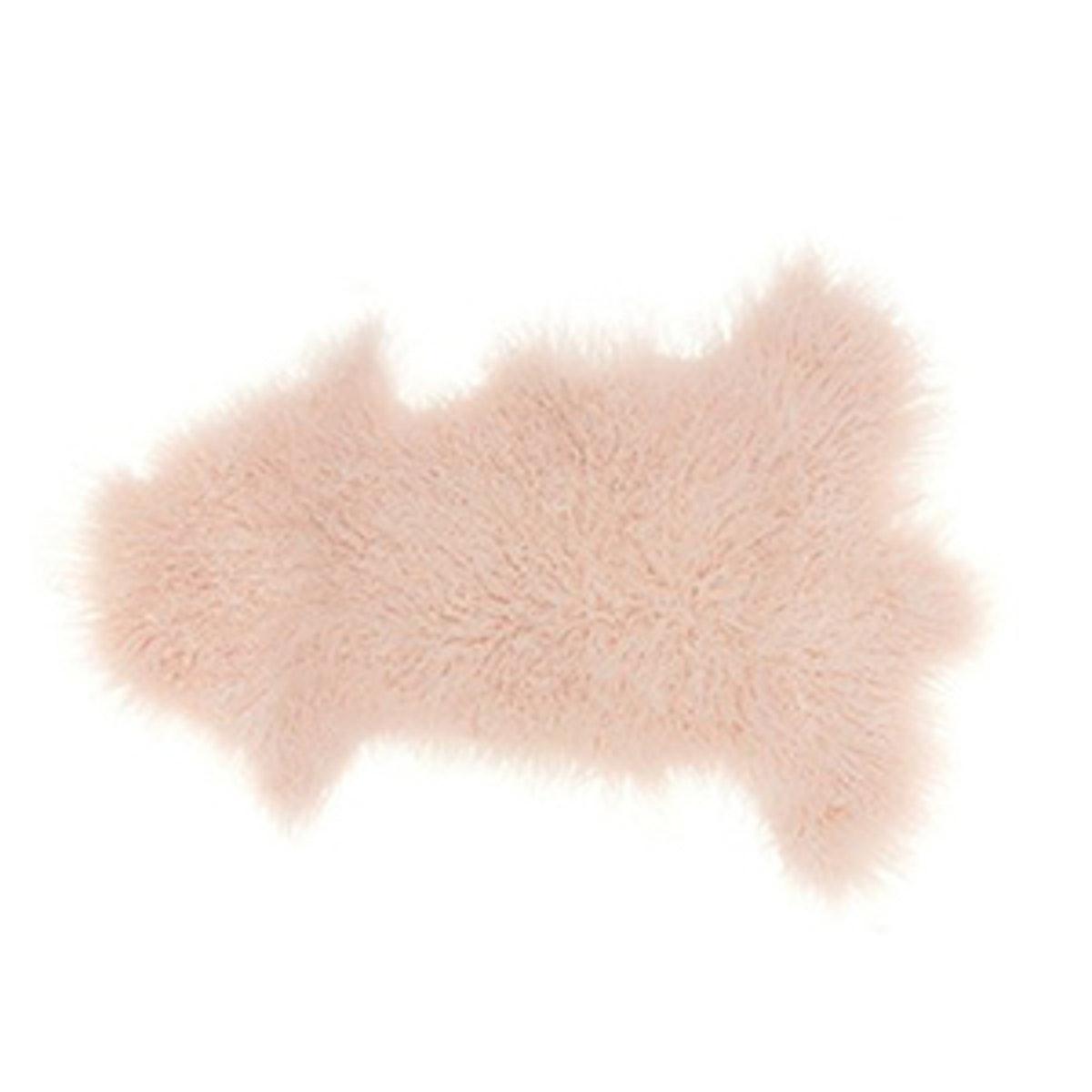 Genuine Sheepskin Freeform Rug