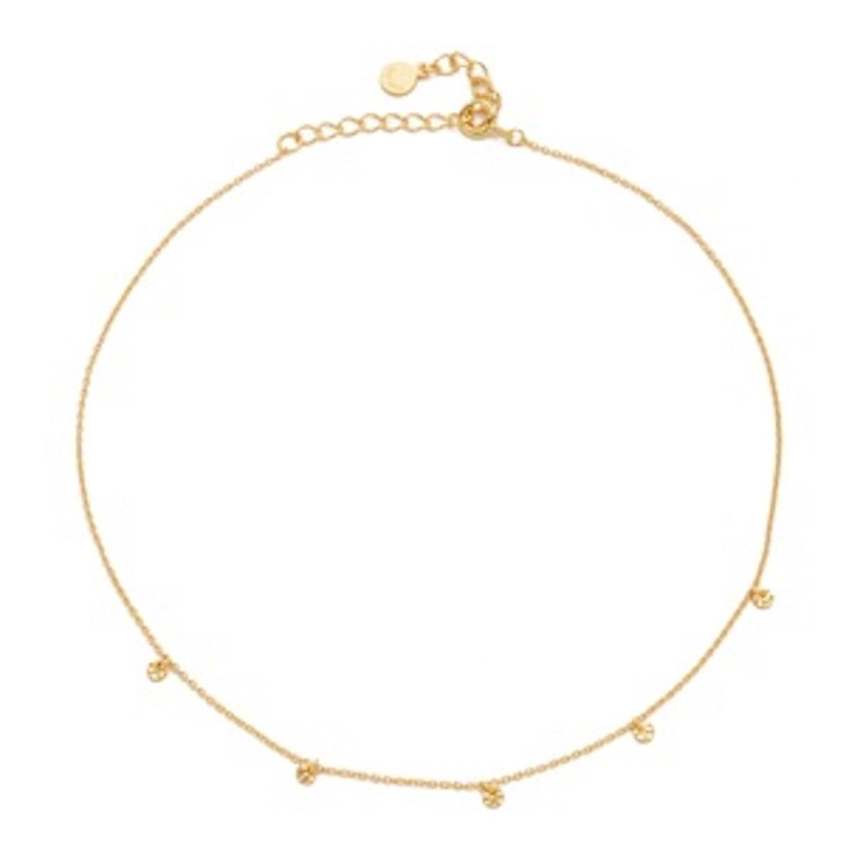5 Disc Choker Necklace