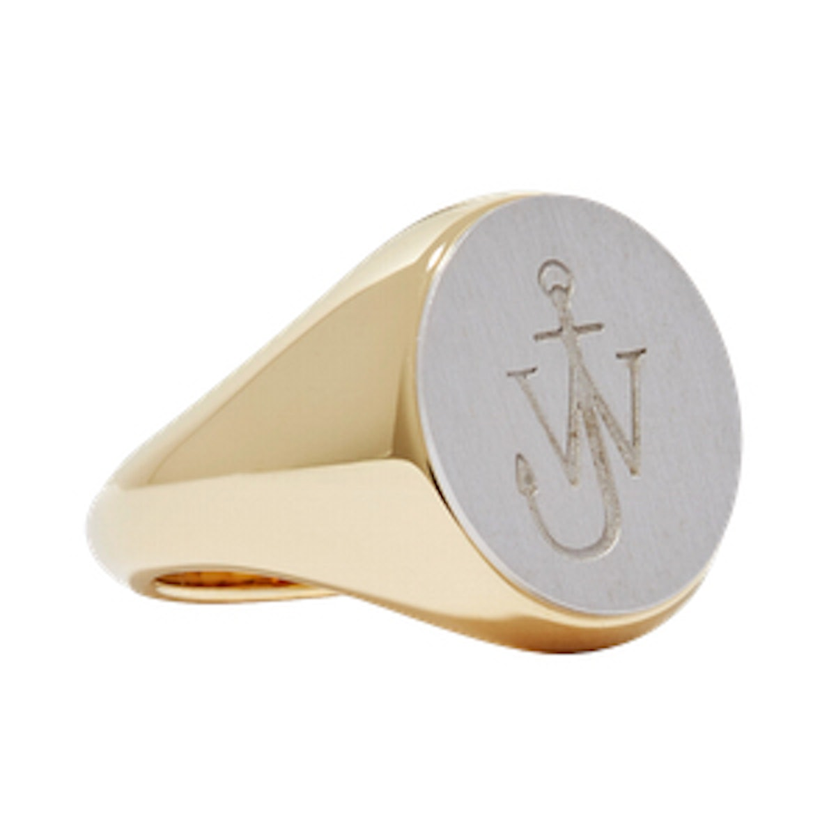 Gold-Plated And Silver-Tone Ring