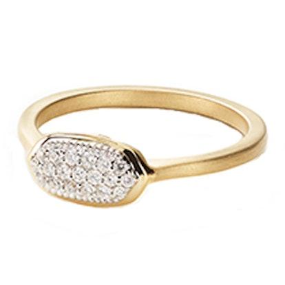 Isa Pavé Diamond Ring