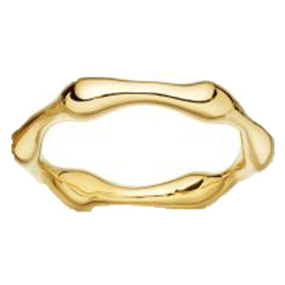 Gold Molten Ring