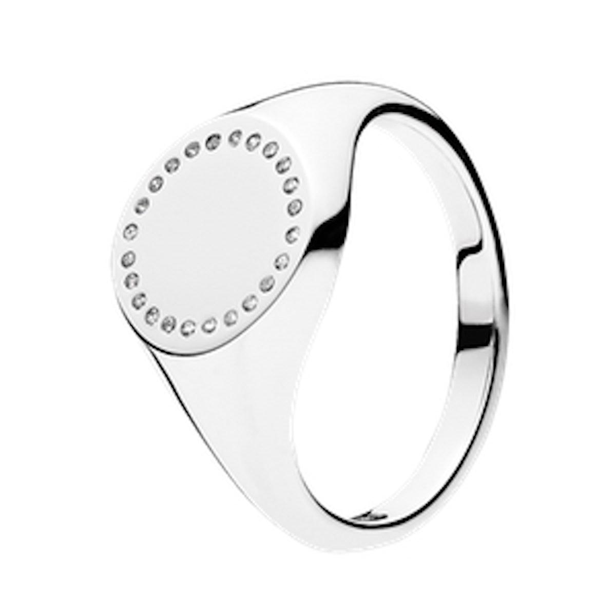 Circle Signet Ring