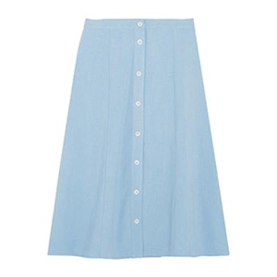 Tommy Jersey Midi Skirt