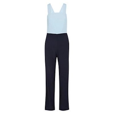 Ross Two-Tone Cotton Jumpsuit