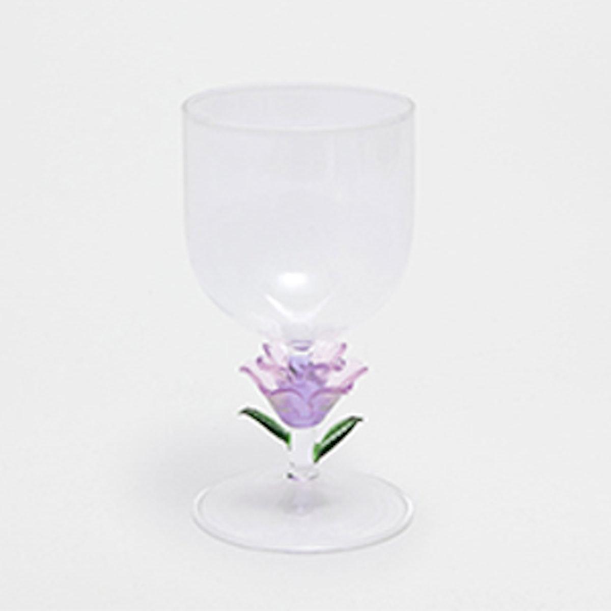 Tulip Base Wine Glass