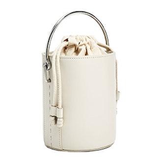Crossbody Bag With Metallic Handle