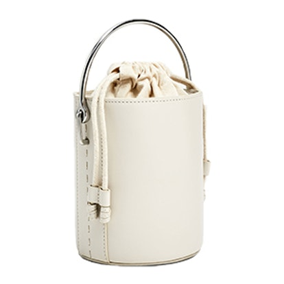 Crossbody Bag With Metallic Handle