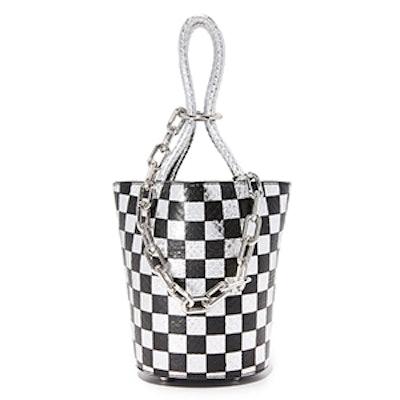 Checkerboard Roxy Mini Bucket Bag