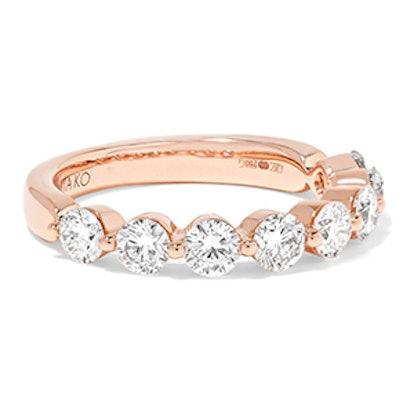 18-Karat Rose Gold Diamond Ring