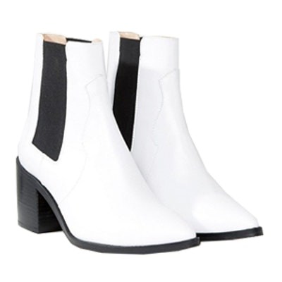 Rewind Leather Chelsea Boots