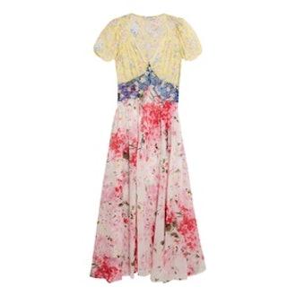 Natalia Floral-Print Silk-Chiffon Dress
