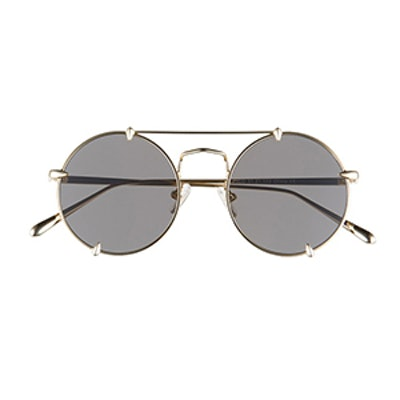 Pico Round Browbar Sunglasses