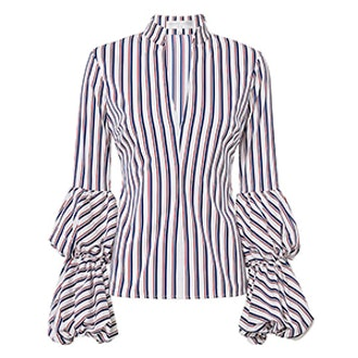 Yasmin Striped Blouse