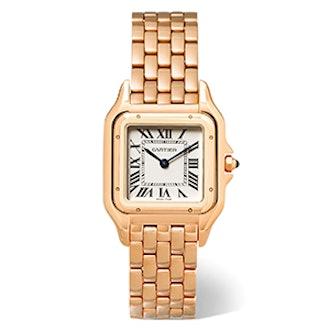 Panthère de Cartier Medium 18-karat Pink Gold Watch
