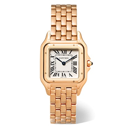 Panthère de Cartier Medium 18-karat Pink Gold Watch
