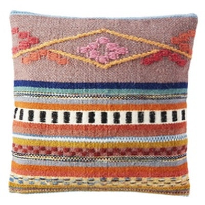 Cusco Pillow With Down-Alternative Insert