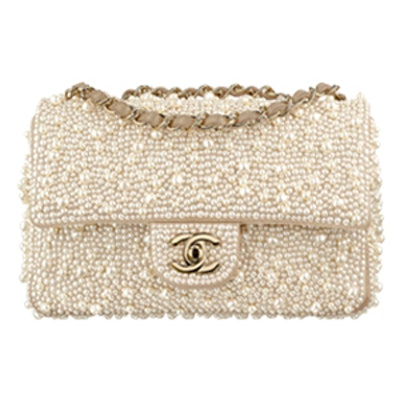 Flap Bag in Ivory