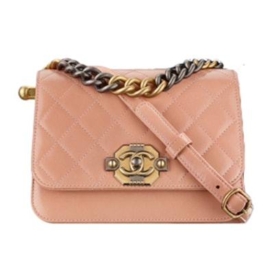 Flap Bag in Pink