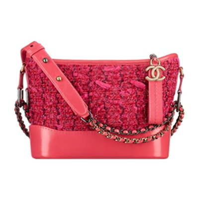 Gabrielle Small Hobo Bag in Pink
