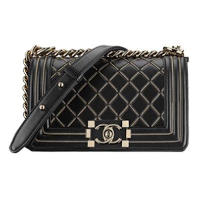 Small Boy Handbag in Black