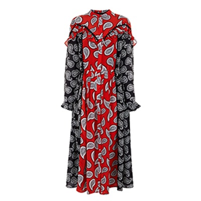 Combo Paisley Mick Midi Dress