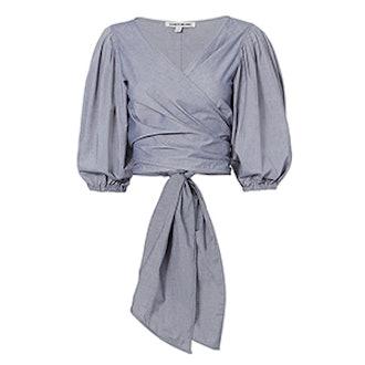 Farrah Tie Wrap Top