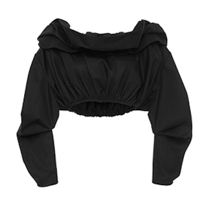 Third Degree Off-The-Shoulder Cropped Shirt