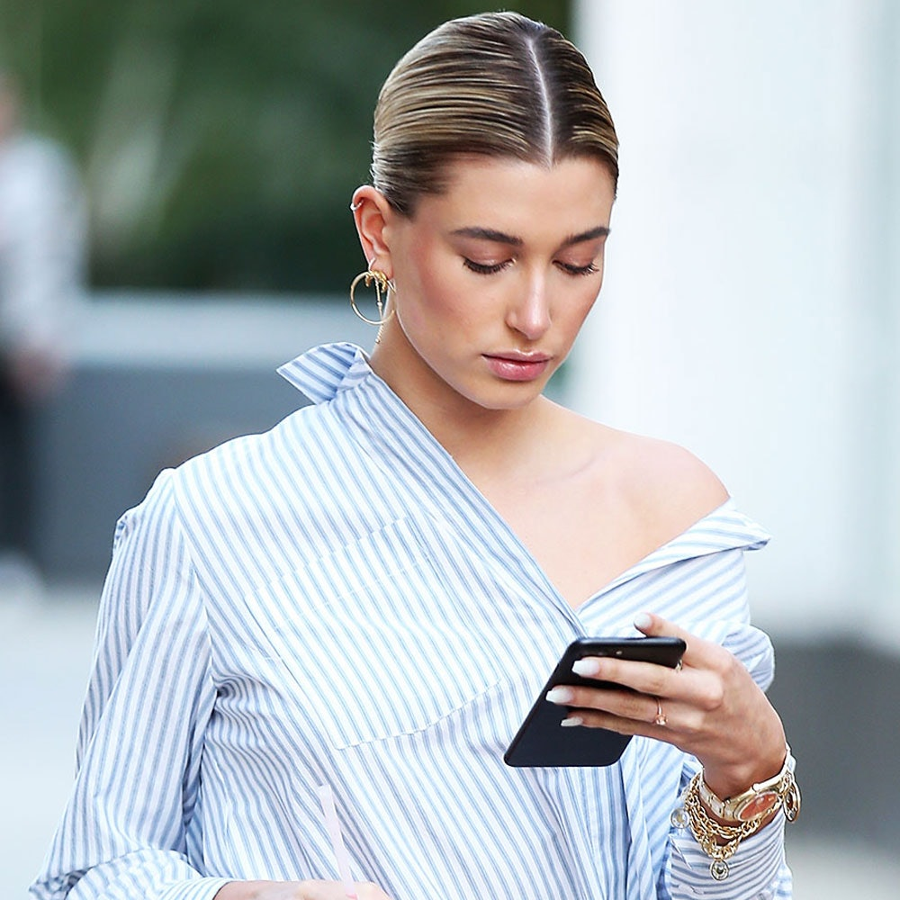 17bbe34a54c18e Hailey Baldwin Just Wore Fashion s Trendiest Piece—And It s From H M