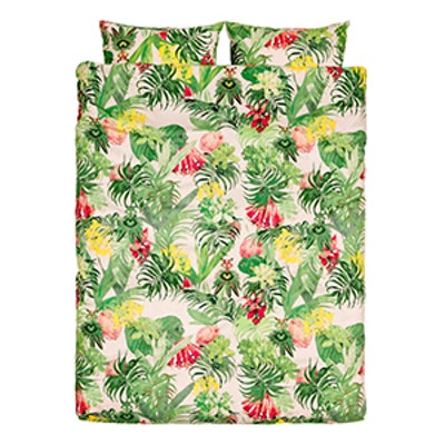 Floral-Print Duvet Cover Set