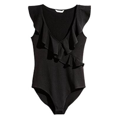 Ruffled Bodysuit