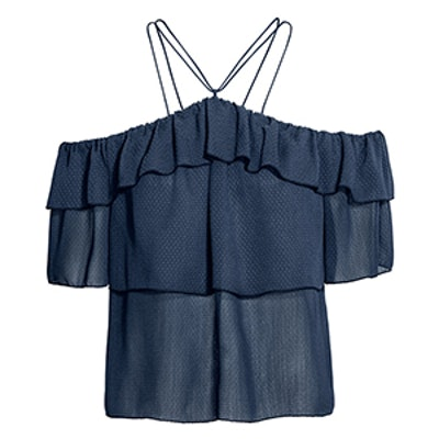 Off-The-Shoulder Ruffled Top