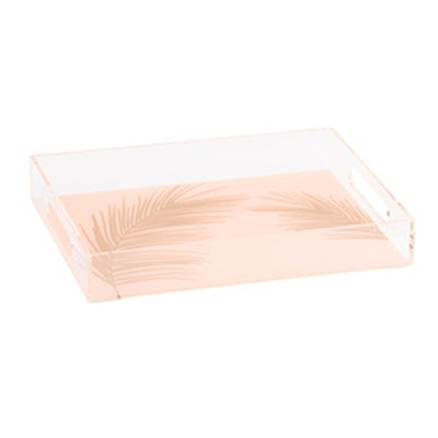 Acrylic Palm Leaf Tray