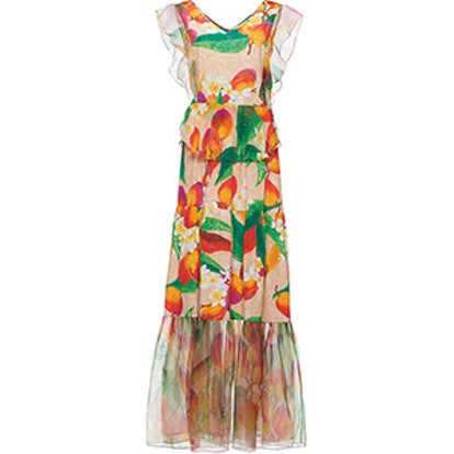 Isabel Flounce Maxi Dress