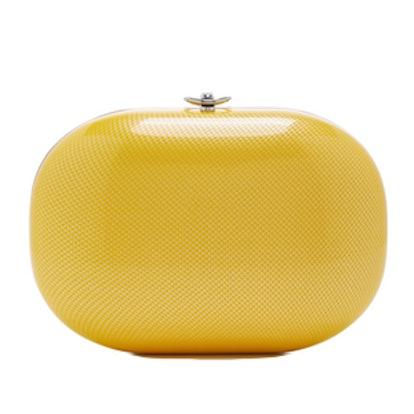 Marigold Linen Clutch