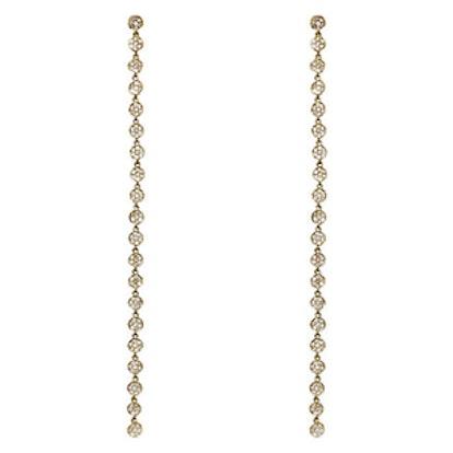 Circle-Link Drop Earrings