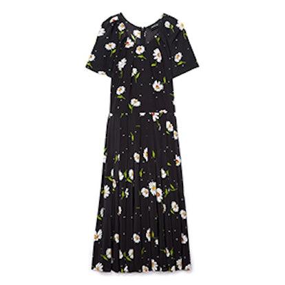 Daisy Love Print Midi Dress